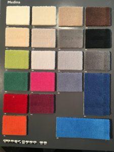 Fußmatten Farben