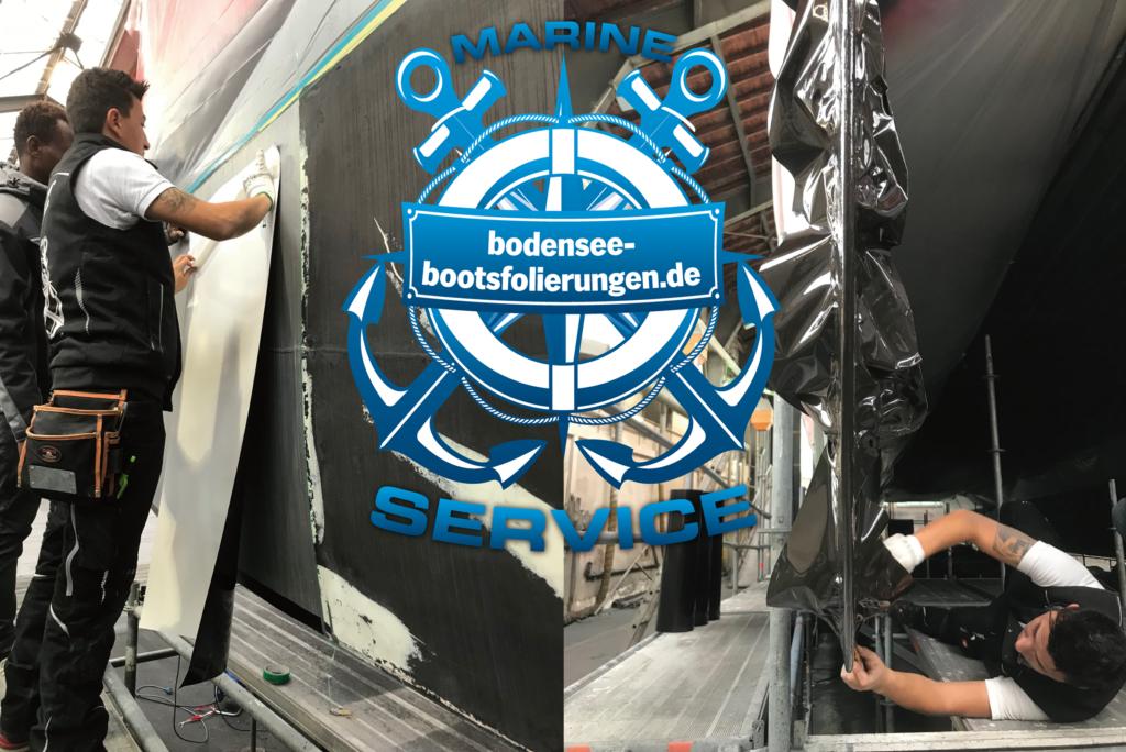 - Designfolierungen - Antifoulingfolierungen, biozidfrei - Bootsfolierung über der Wasserkante - Interieurfolierungen - Renolit-Schulungen Ultramarin Boatshow