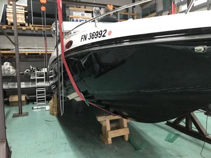 biozidfreies Antifouling für Boote