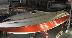 PERFORMANCE 901 Speedboot aus Friedrichshafen wird foliert.